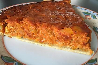Vegetarische Paprika-Zwiebel-Quiche 18