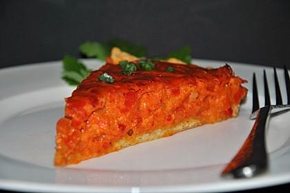 Vegetarische Paprika-Zwiebel-Quiche 12