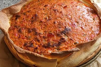 Vegetarische Paprika-Zwiebel-Quiche 31