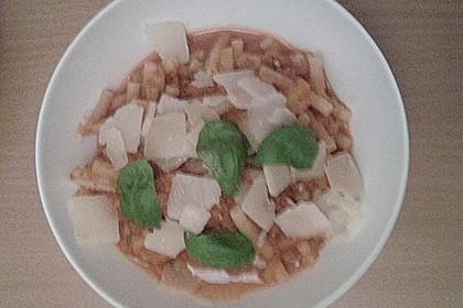 Pasta mit Tomaten-Süßkartoffel-Karotten-Sauce 2