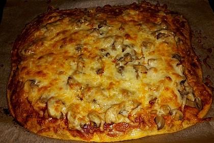 Pizzaboden aus Thunfisch 1