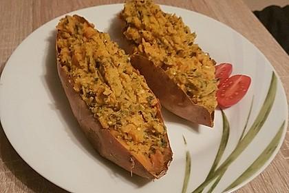 Gebackene Süßkartoffeln 13