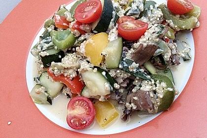 Quinoa-Gemüse-Pfanne 1