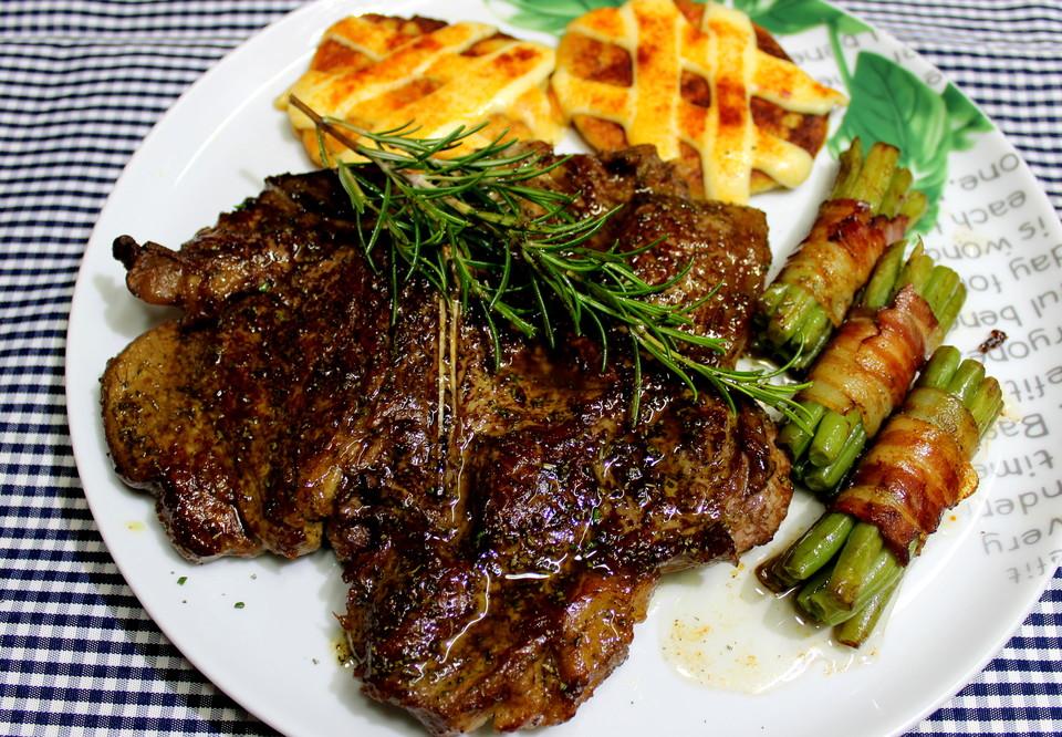 T Bone Steak In Rosmarin Von Klaumix Chefkoch