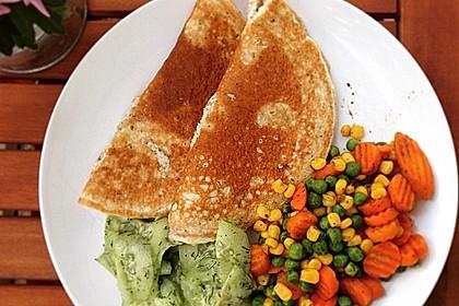 Proteinpfannkuchen herzhaft