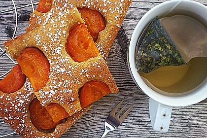 Dinkelvollkorn-Marillenkuchen 1
