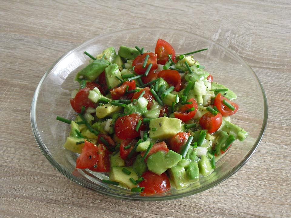Leckerer Tomaten Avocado Salat Von Geraldb Chefkoch