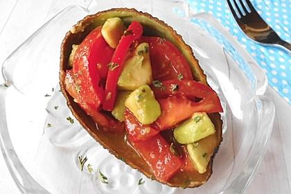Leckerer Tomaten-Avocado-Salat 14