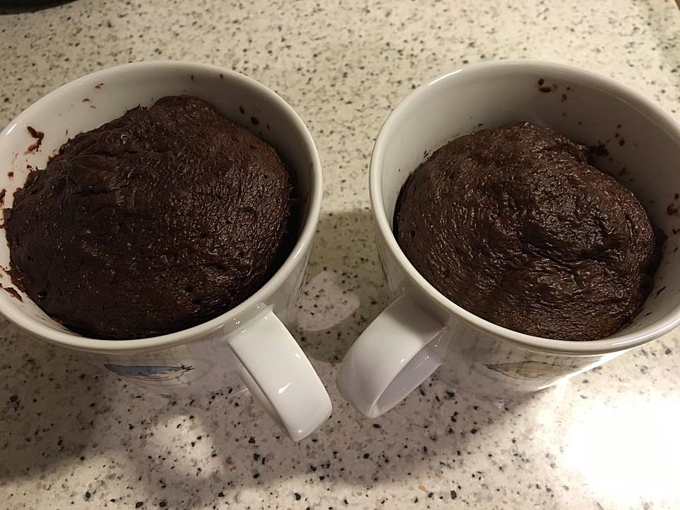 Low Carb Eiweiss Tassenkuchen Aus Der Mikrowelle Von Larissari