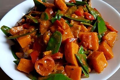 Das weltbeste vegane Süßkartoffel-Curry 3