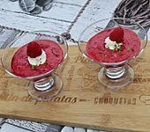 Fruchtiger Himbeer-Joghurt-Pudding (Bild)