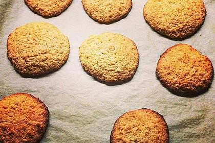 Hafer-Mandel-Kekse