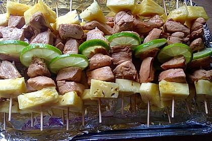 Huli Huli Chicken-Spieße