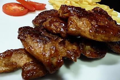 Vegane Chickenwings Barbecue-Style (Bild)