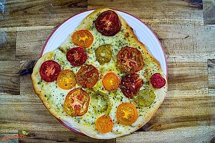 Tomatenpizza selber machen