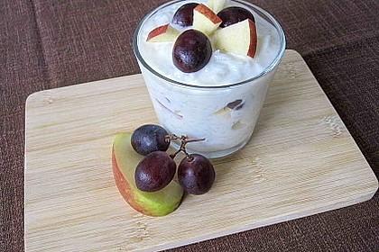 Reisdessert mit Früchten 1
