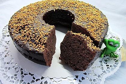 Urmelis Kirschwein-Schokoladen-Kranz mit einem Hauch Espresso
