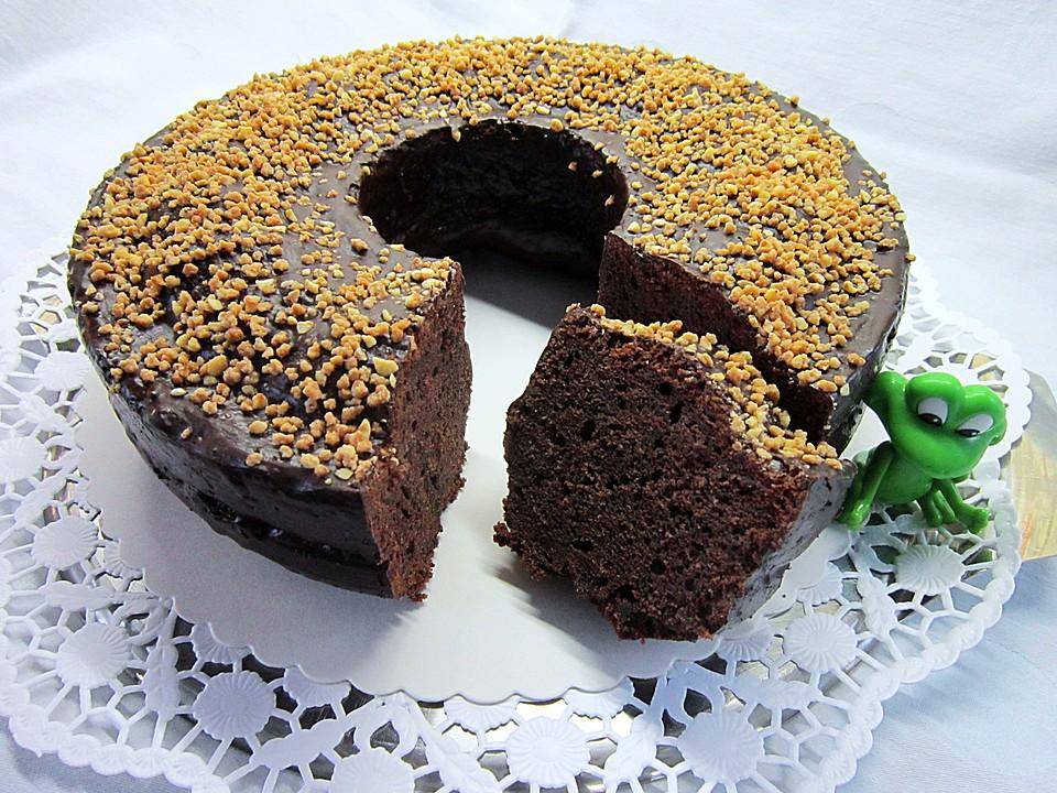 Urmelis Kirschwein Schokoladen Kranz Mit Einem Hauch Espresso Von