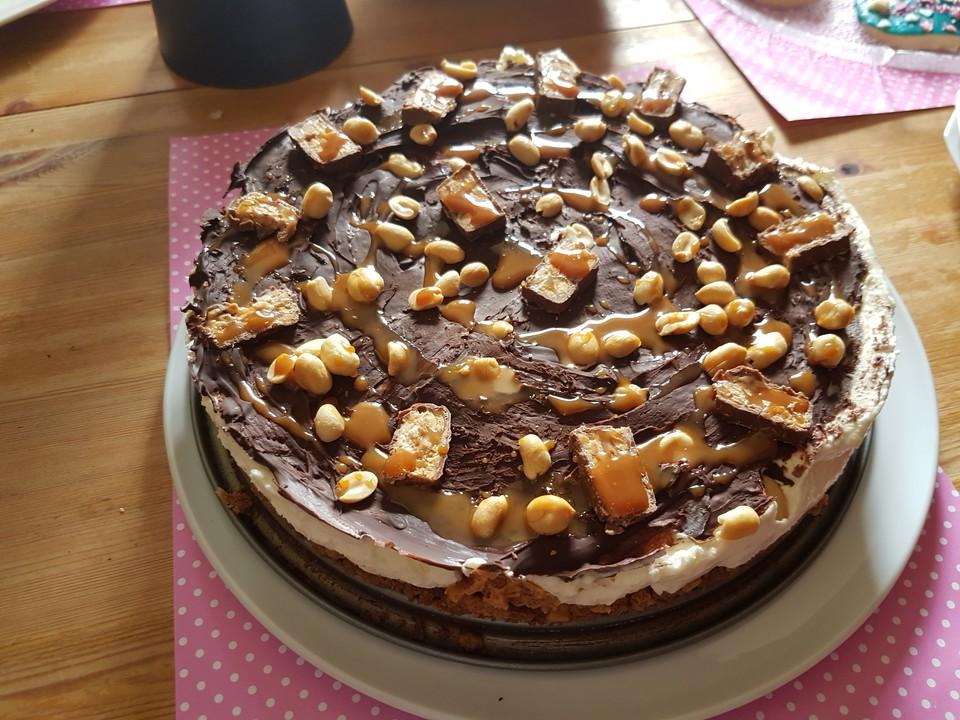 Snickers Torte Von Chelsey711 Chefkoch De