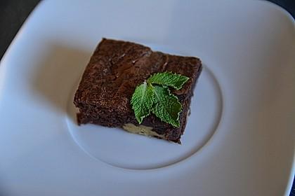 Saftige, vegane Walnuss-Brownies