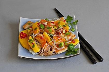 Mango-Hähnchen-Salat