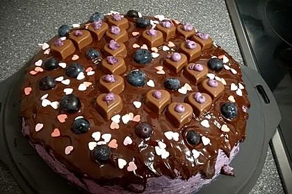 Schokoladen-Heidelbeer-Torte 1