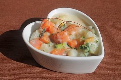 M-K-K-Gemüse in Petersiliensoße 1