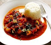 Sinangag - gebratener Reis mit Knoblauch (Bild)