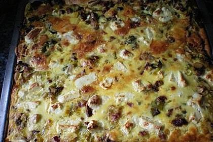 Steinpilz-Lauch-Kuchen 1
