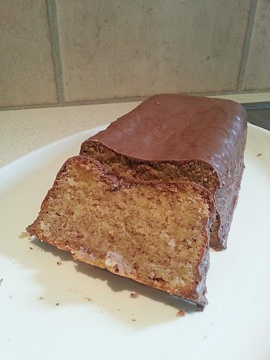 Marzipan Haselnuss Kuchen Mit Schokoglasur Von Scotus Chefkoch De