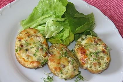 Doppelt gebackene Kartoffeln 1