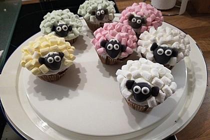 Schäfchen-Cupcakes 2