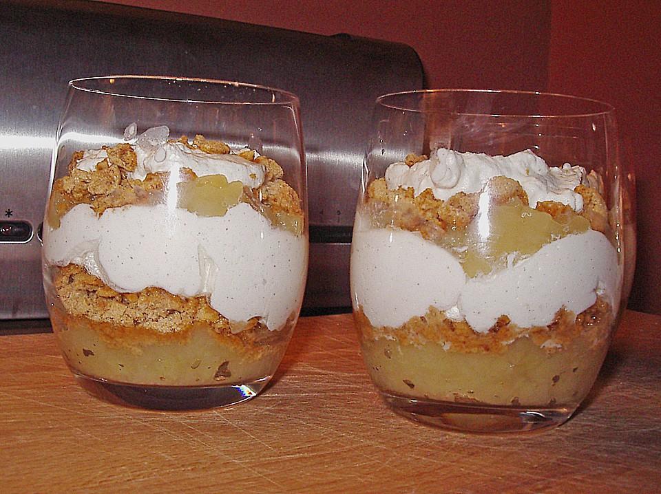 Amarettini Apfel Dessert Von Wilma2004 Chefkoch