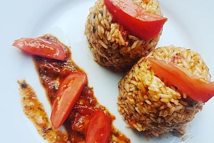 Griechischer Tomatenreis 7