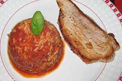 Griechischer Tomatenreis 11