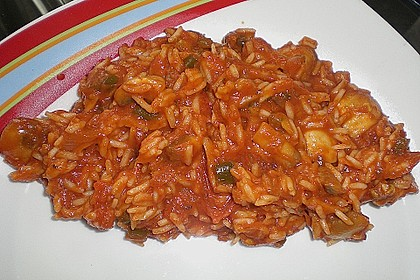 Griechischer Tomatenreis 41