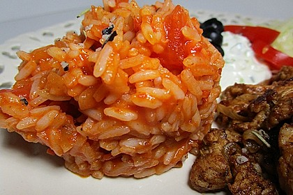 Griechischer Tomatenreis 12
