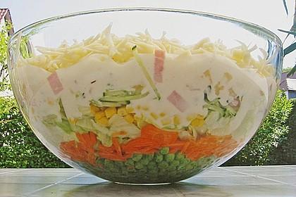 Schichtsalat auf Kerstins Art 1