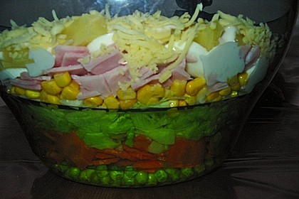 Schichtsalat auf Kerstins Art 3