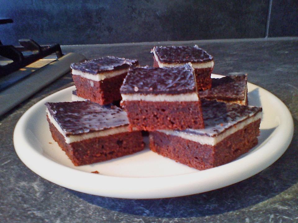 Marzipan Schokoladenkuchen Vom Blech Von Emmy Lina Chefkoch