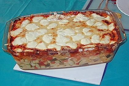 Chili - Tomaten - Zucchini - Nudelauflauf 4