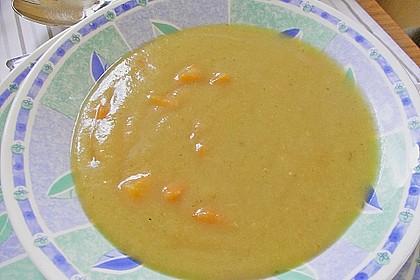 Kartoffel - Lauchcremesuppe mit Karotteneinlage 8