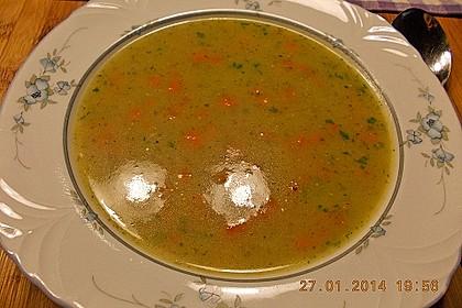 Kartoffel - Lauchcremesuppe mit Karotteneinlage 3