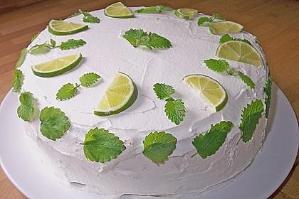 Mojito-Torte (Bild)