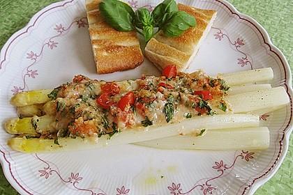 Spargel mit Parmesan-Kruste 2