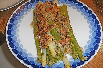 Spargel mit Parmesan-Kruste 33