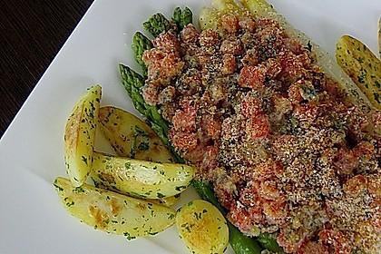 Spargel mit Parmesan-Kruste 24