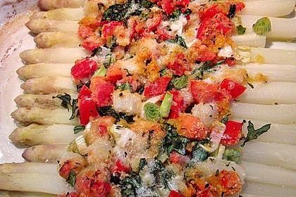 Spargel mit Parmesan-Kruste 8