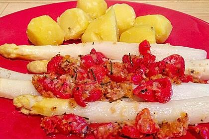 Spargel mit Parmesan-Kruste 37