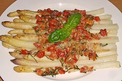 Spargel mit Parmesan-Kruste 4